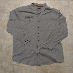 Harley Davidson Mens Button Down Shirt Size 3XL